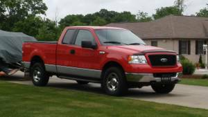 2005 F150 Extended Cab 4x4 Tow Package