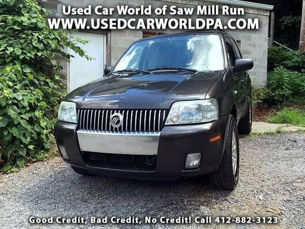 == 2005 MERCURY MARINER LUXURY 4WD ==Mach 6CD/Sat, Htd Lthr, Sunroof!!