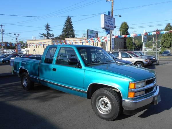 1994 Chevrolet C/K 1500 ExtraCab Pickup Truck