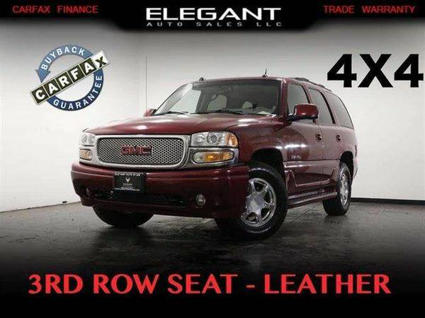 2004 *GMC* *Yukon* Denali / AWD / 3RD ROW SEAT / LEATHER