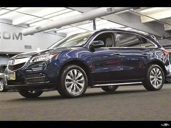 2014 *Acura* *MDX* *SH-AWD W/TECH PKG NAVI BACKUP CAM 3RD ROW 1...