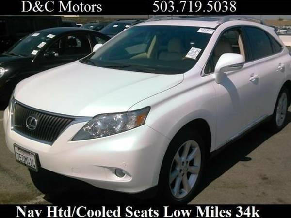 2010 *Lexus* *RX* *350 Htd/Cooled Seats Nav 34k Miles* SUV