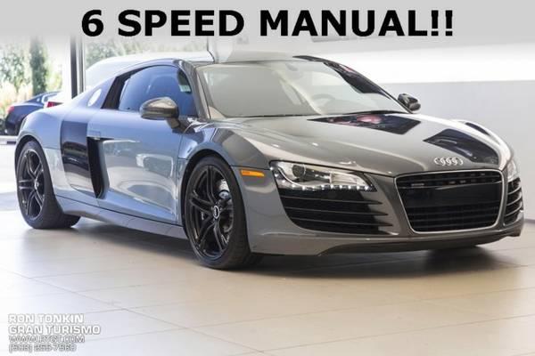 2008 *Audi* *R8* *4.2* 2D Coupe