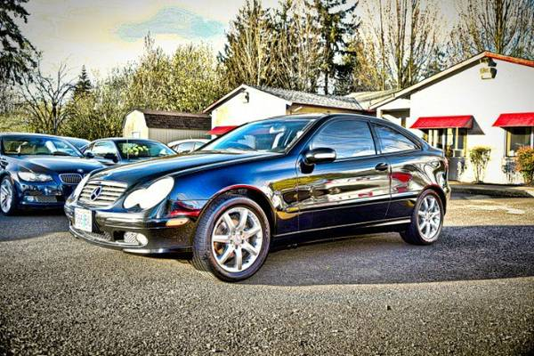 2002 *Mercedes-Benz* *C-Class* *C230 Coupe LOW MILES Will Warranty*...