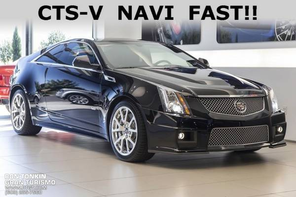 2012 *Cadillac* *CTS-V* ** 2D Coupe