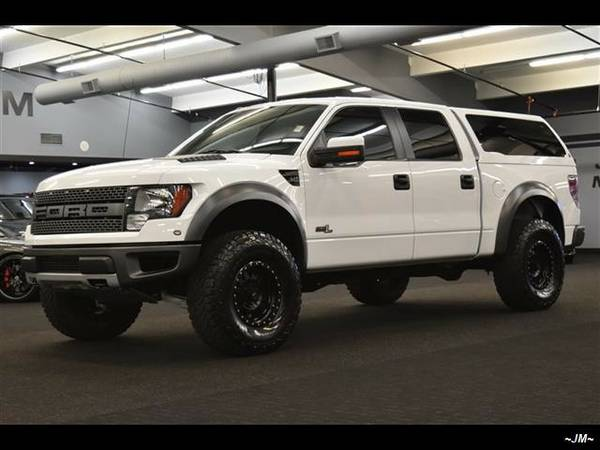 2011 *Ford* *F-150* *SVT RAPTOR 6.2L LOW MILES CANOPY LUXURY NAV CAM*