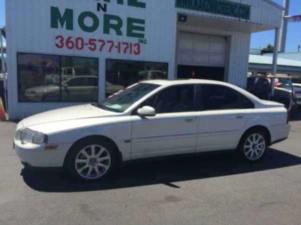 2002 Volvo S80 T6 4dr Leather,Loaded