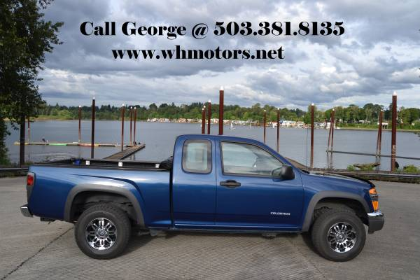 ►2005 Chevrolet Colorado LS Extended Cab 4x4
