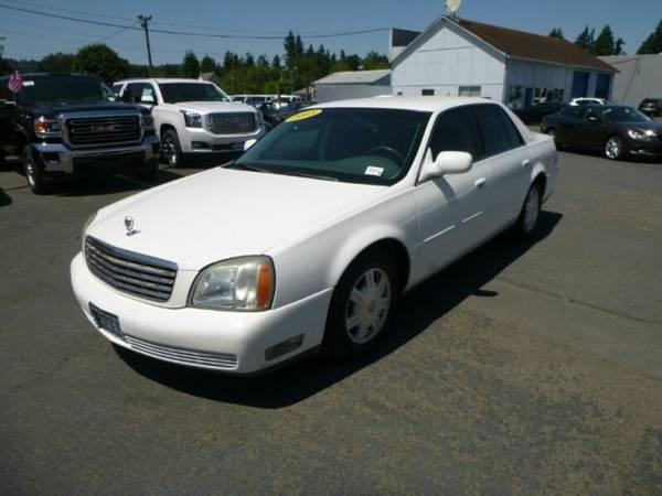 2005 *Cadillac* *DeVille* *Base* 4 Door Sedan