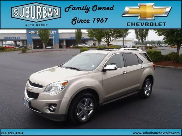 2014 *Chevrolet* *Equinox* *AWD 4dr LTZ* Sport Utility