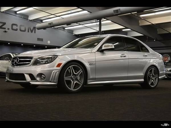 2009 *Mercedes-Benz* *C-Class* *C63 AMG PERFORMANCE SEDAN NAVI HEATED