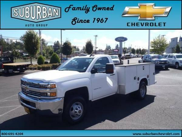 2015 *Chevrolet* *Silverado* *3500HD* *4WD Reg Cab 137.5 WB, 59.06 CA