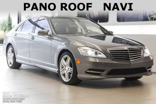 2013 *Mercedes-Benz* *S-Class* *S550* 4D Sedan