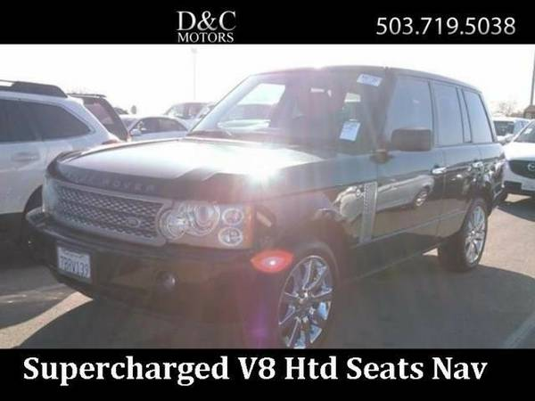 2006 *Land Rover* *Range* *Rover* *Supercharged Supercharged 4dr SUV*