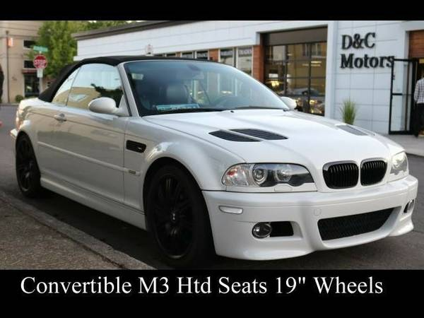 2006 *BMW* *M3* *Convertible Locally Owned* Convertible