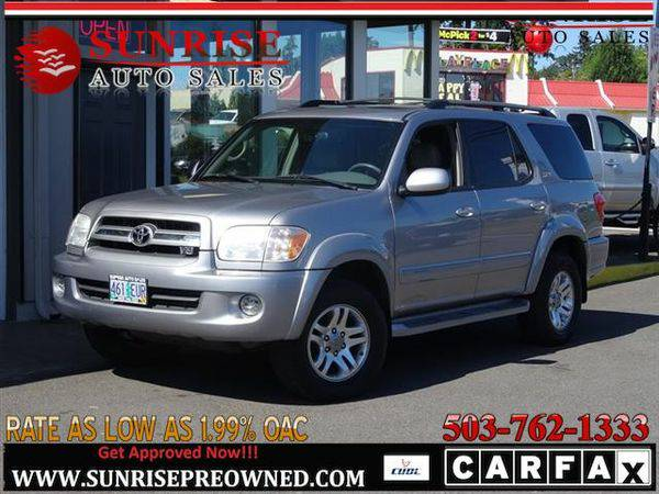 2006 *Toyota* *Sequoia* SR5 4dr SUV 4X4 LEATHER! NICE SUV!!