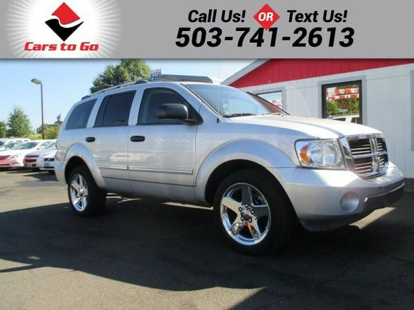 2007 Dodge Durango LIMITED WITH 3RD SEAT SUV Durango Dodge