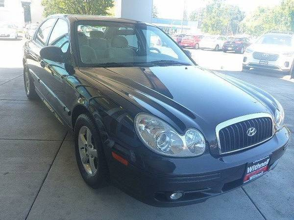 2005 *Hyundai*Sonata* 4dr Sdn GL V6 Auto - (BLACK) *Hyundai*Sonata*