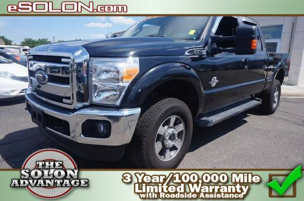 2015 Ford Super Duty F-350 SRW Lariat - contact us at