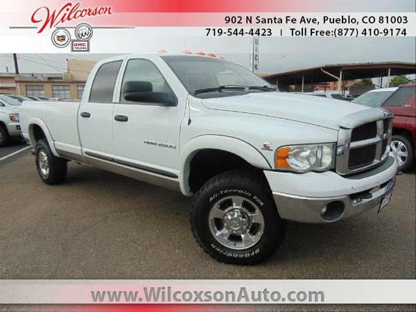 2005 *Dodge Ram 2500* SLT Pueblo Colorado Springs - (Bright White...