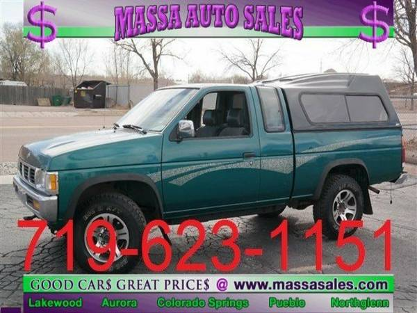 1996 Nissan Trucks 4WD SE King Cab Extended Cab Pickup