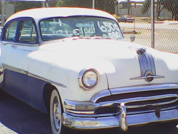 1954 Pontiac Sky Chief - For Sale or Trade