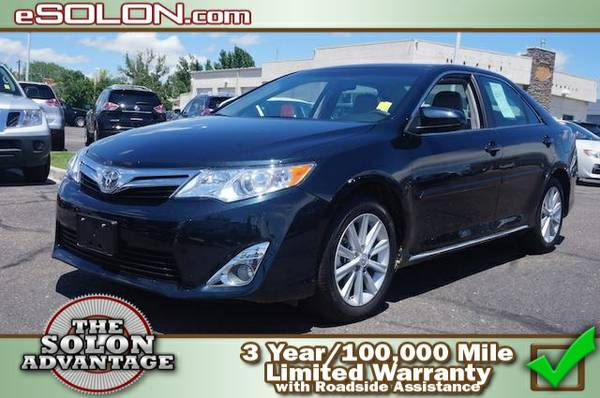 2014 Toyota Camry XLE - contact us at   7,563 miles only