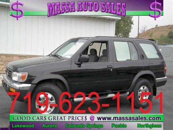 1998 Nissan Pathfinder 4dr XE Auto 4WD Sport Utility