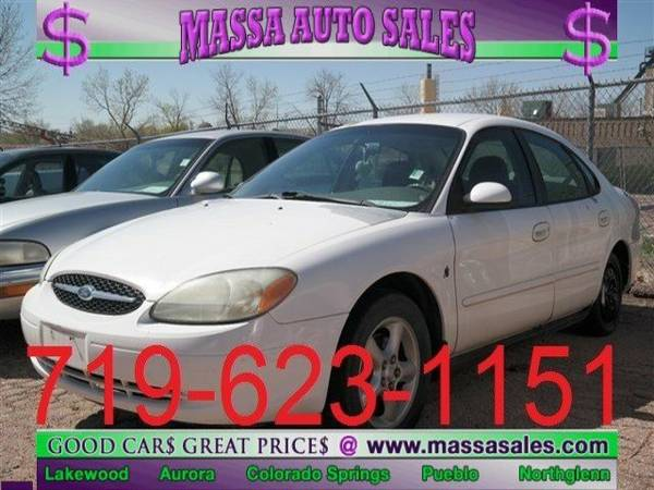 2001 Ford Taurus 4dr Sdn SES 4dr Car