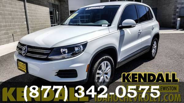 2014 Volkswagen Tiguan WHITE Good deal!***BUY IT***