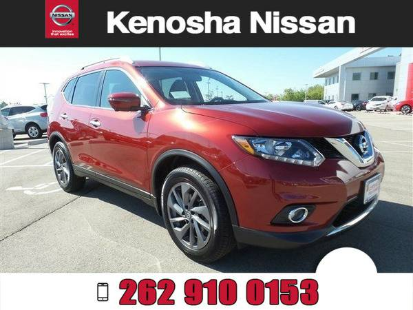 *2016* *Nissan Rogue SL* *Red*