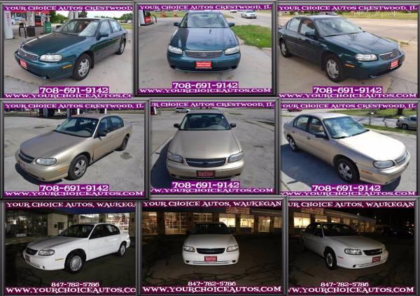 1999-2001-2003 CHEVROLET MALIBU V6 1OWNER CD GOOD TIRES LOW PRICE