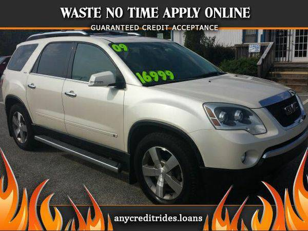 2009 *GMC* *Acadia* SLT-2 FWD You're Approved or Car is *Free*
