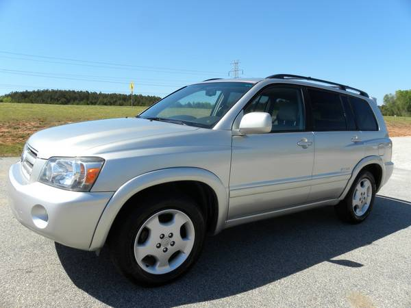 2007 Toyota Highlander Limited * Leather, 3rd Row, Guaranteed Approval
