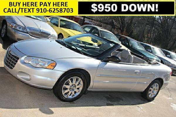 05 CHRYSLER SEBRING LIMITED CONVERTIBLE, 130k miles