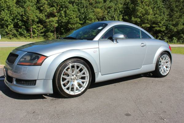 2002 audi TT ALMS Commemorative 225HP Quattro Coupe 6spd Many Extras