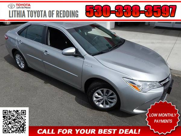 2016 TOYOTA CAMRY HYBRID LE SILVER