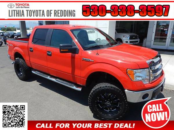 2013 FORD F-150 F150 RED