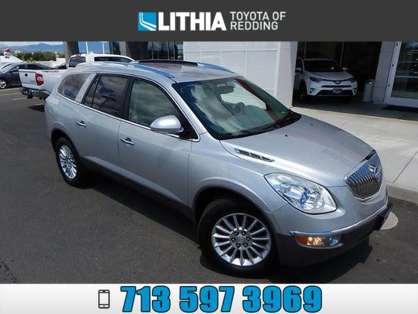 2012 BUICK ENCLAVE LEATHER GROUP SILVER