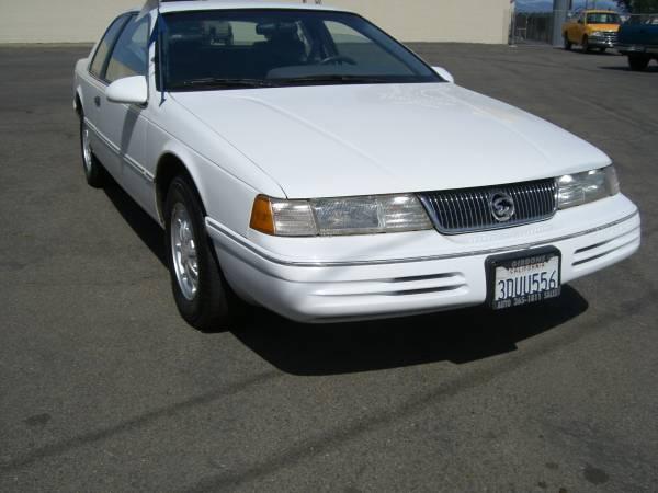 1993 Mercury Cougar XR7 low miles
