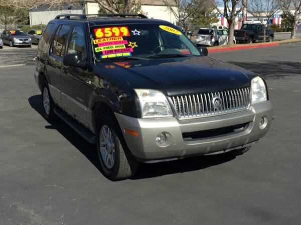 2002 Mercury Mountaineer AWD 7 PASSENGER & LEATHER!! ***price reduced