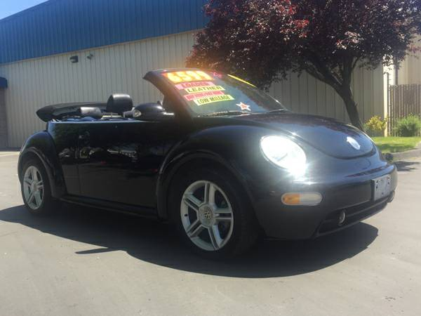 2004 VW New Beetle TURBO CONVERTIBLE in PERFECT CONDITION!!!