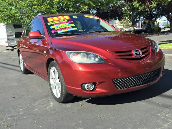 2006 Mazda 3 Hatchback - 4cyl SUPER CLEAN SPORTY & SPACIOUS!!