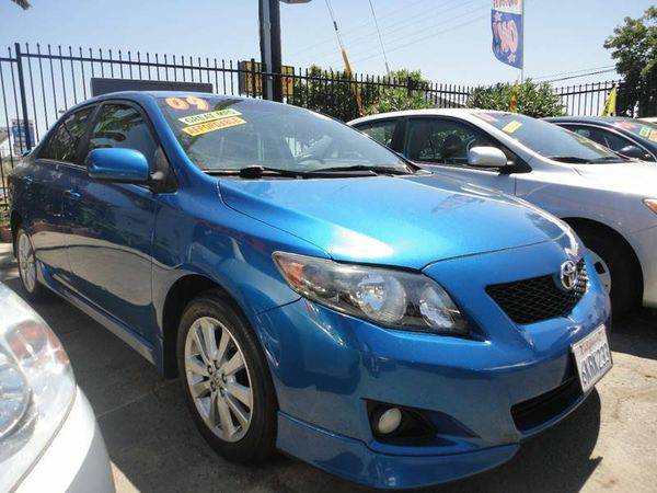 2009 *Toyota* *Corolla* S 4dr Sedan 4A *Re-establish Your Credit...