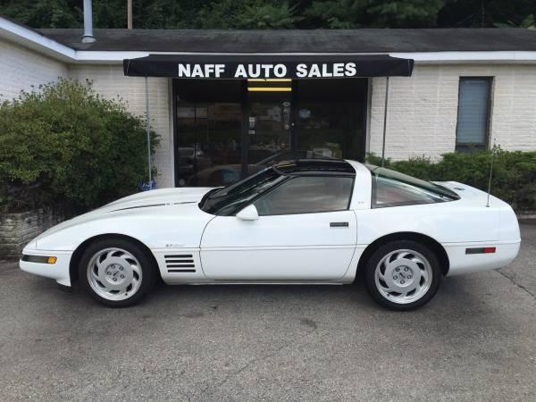 1991 Chevrolet Corvette Coupe - Clean Carfax - Low Miles -