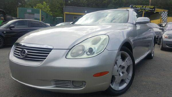 2005 *Lexus* *SC* *430* Base 2dr Convertible - ONLY $999 DOWN WE...