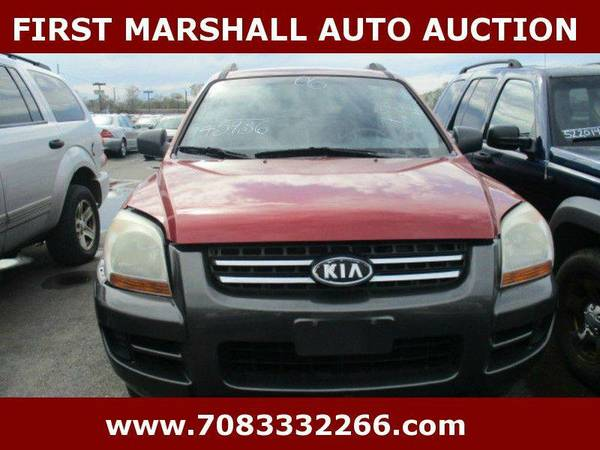 2006 Kia Sportage LX 4dr SUV w/Automatic - First Marshall Auto Auction