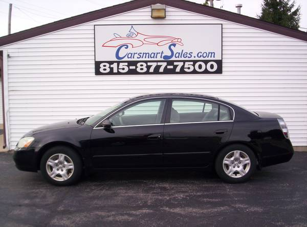 2004 Nissan Altima 4DR S - reliable BLACK BEAUTY with a FOUR CYLINDER