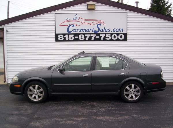 2002 Nissan Maxima 4DR GLE - sporty luxury - COOL LQQKING - full power