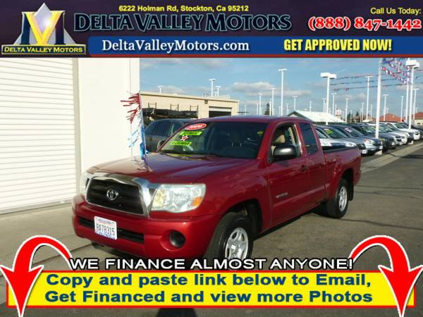 2006 *Toyota Tacoma* Access Cab Pickup 4D 6 ft Truck